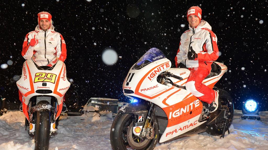 Andrea Iannone & Ben Spies, Pramac Racing Team - Wrooom 2013