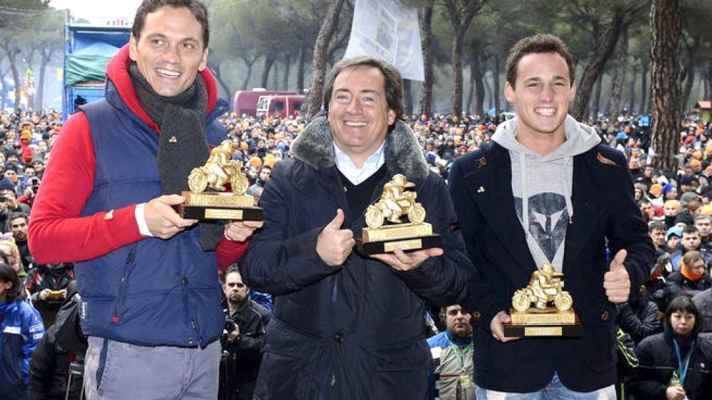 Marco Rocha, Sito Pons, Pol Espargaro, Pingüinos de Oro 2013
