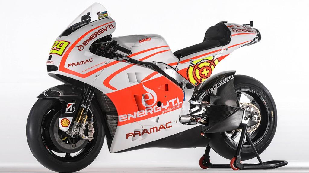 Andrea Iannone´s Pramac Racing Team Ducati Desmosedici GP13