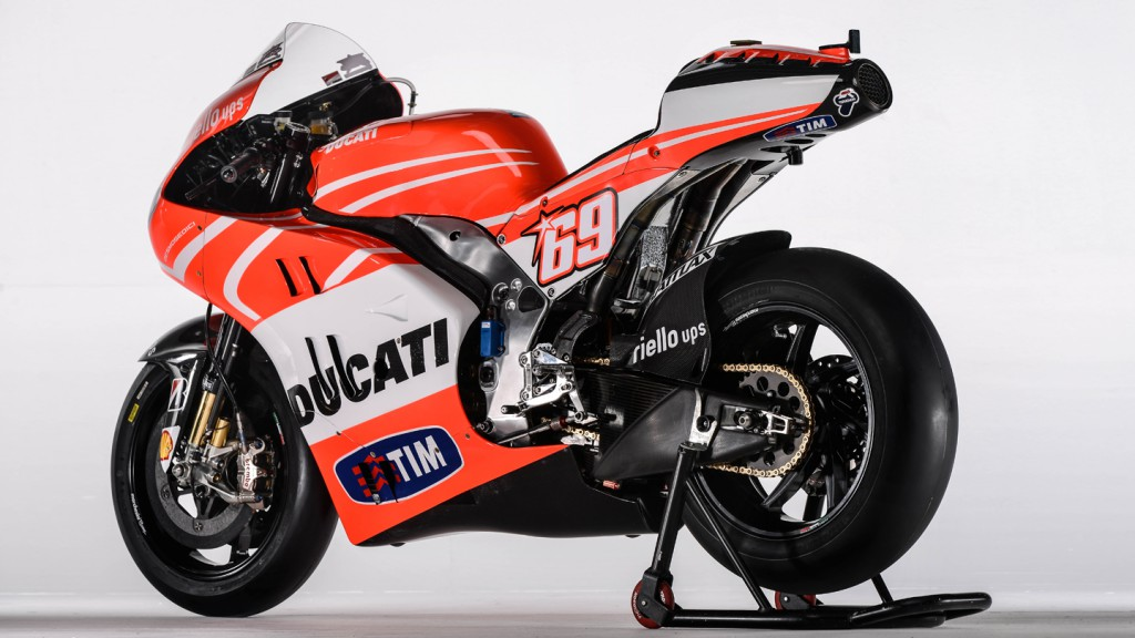 Nicky Hayden´s Desmosedici GP13