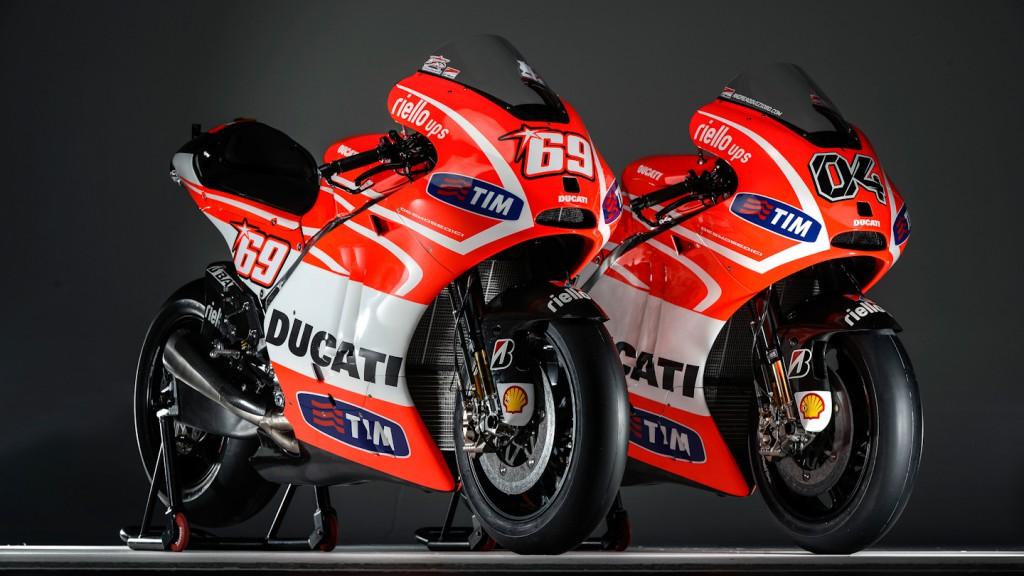 Ducati Team´s Desmosedici GP13