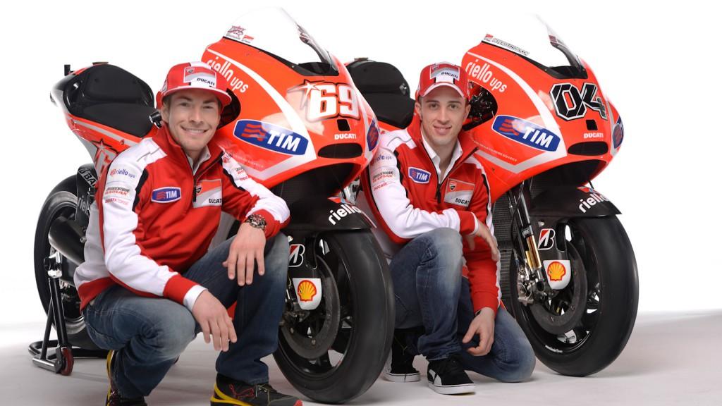 Nicky Hayden, Andrea Dovizioso, Ducati Team