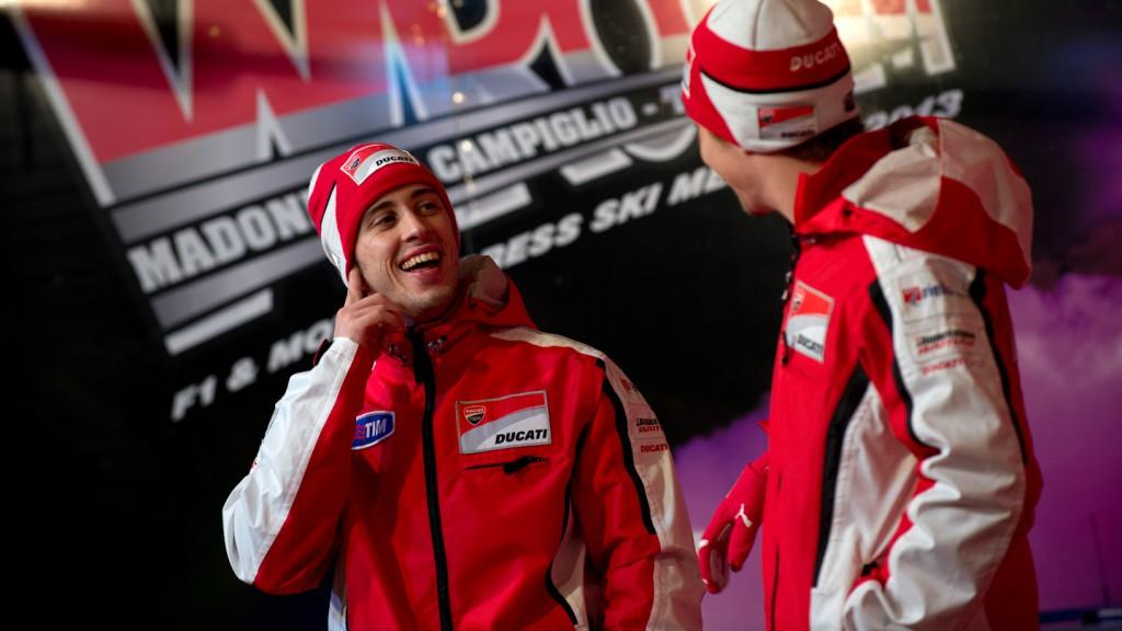 Andrea Dovizioso, Ducati Team, Wrooom 2013