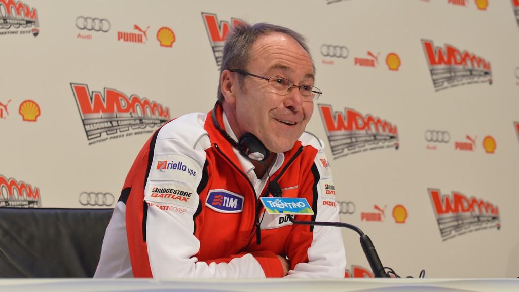 Bernhard Gobmeier, General Manager Ducati Corse, Wrooom 2013