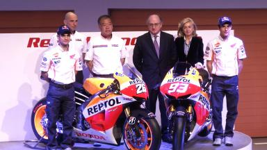2013 Repsol Honda Team Launch