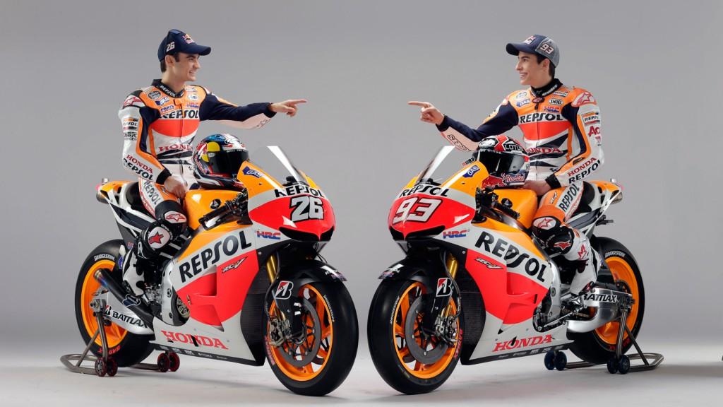 Dani Pedrosa & Marc Marquez, Repsol Honda Team