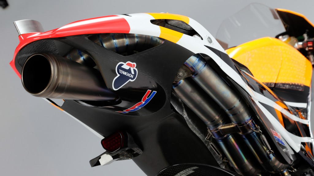 2013 Honda RC213V detail, Repsol Honda Team