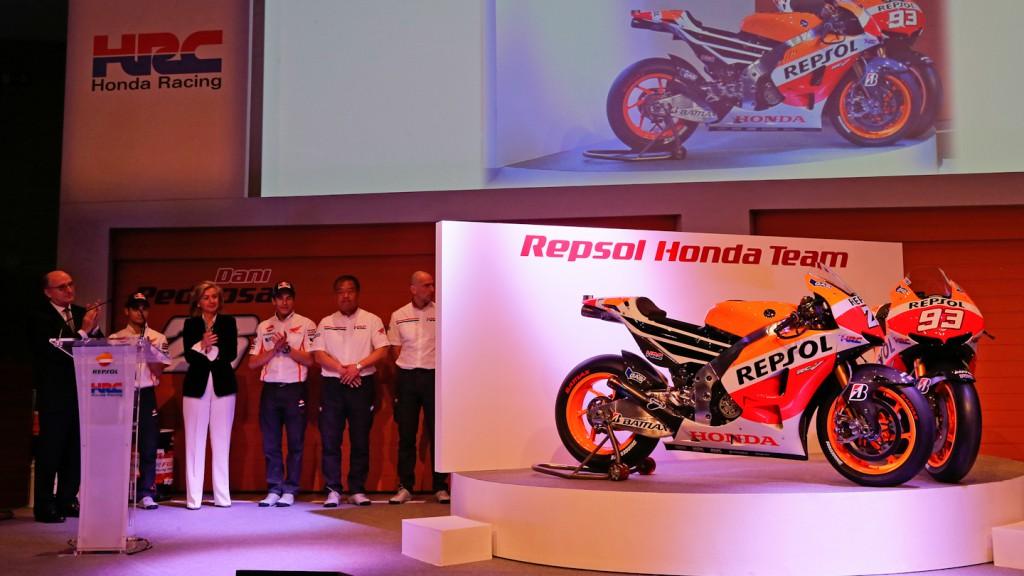 Honda RC213V, Repsol Honda Team presentation