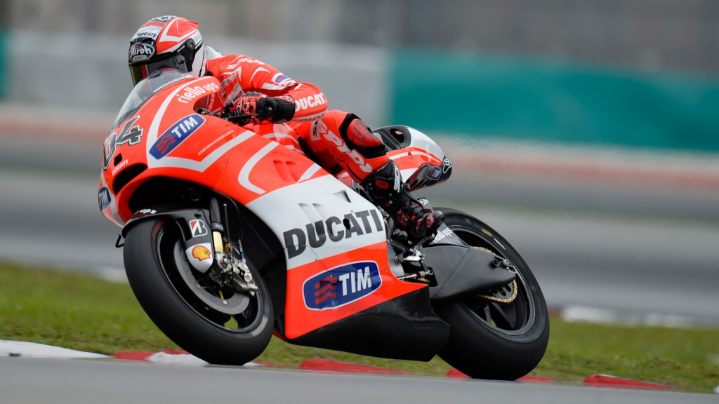 Andrea Dovizioso, Ducati Team - Sepang Official MotoGP Test © Gigi Soldano / Milagro