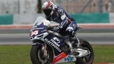 Randy de Puniet, Power Electronics Aspar - Sepang Official MotoGP Test