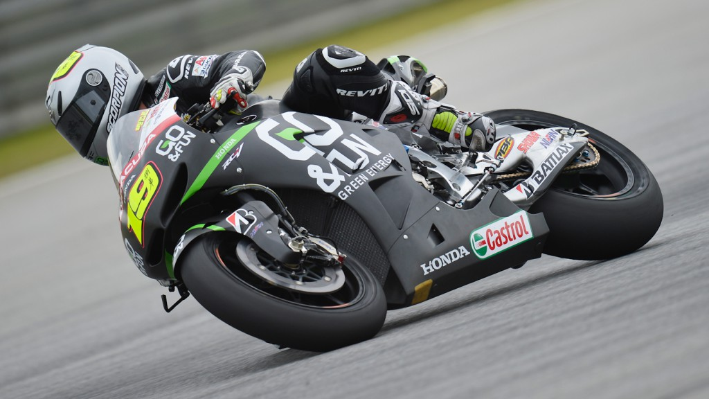 Alvaro Bautista, Go & Fun Honda Gresini - Sepang Official MotoGP Test © Gigi Soldano / Milagro