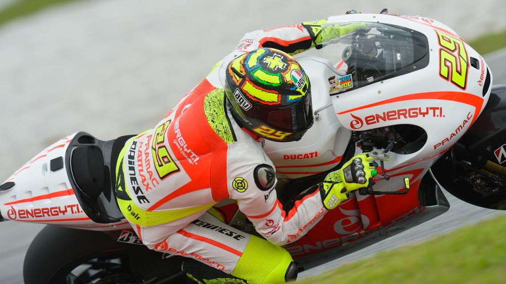 Andrea Iannone, Energy T.I. Pramac Racing Team - Sepang Official MotoGP Test © Gigi Soldano / Milagro