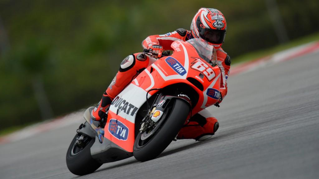 Nicky Hayden, Ducati Team - Sepang Official MotoGP Test © Gigi Soldano / Milagro