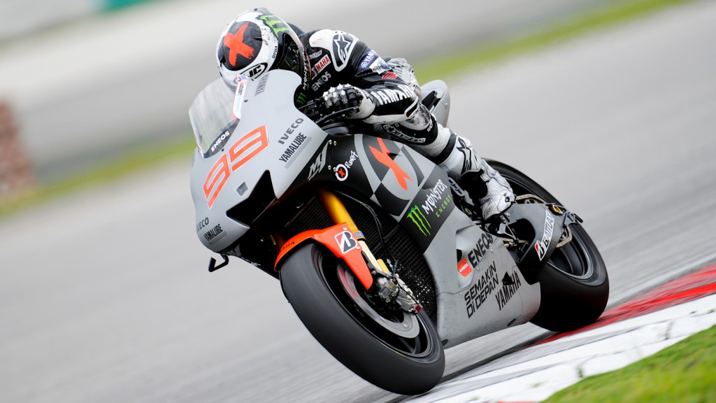 Jorge Lorenzo, Yamaha Factory Racing - Sepang Official MotoGP Test