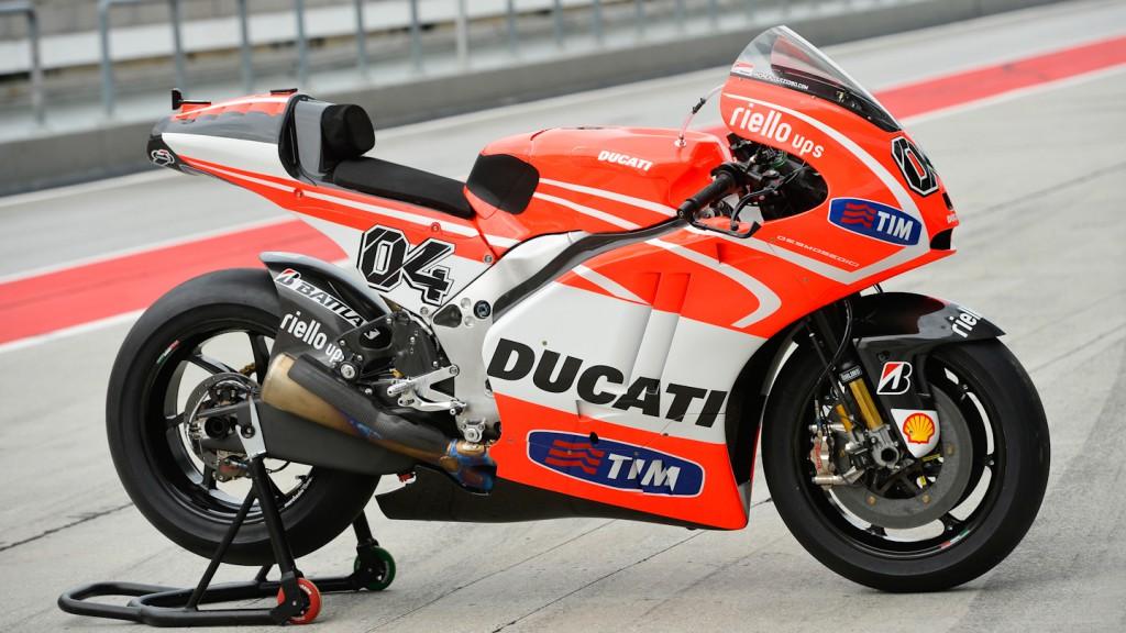 Andrea Dovizioso´s Desmosedici GP13, Ducati Team - Sepang Official MotoGP Test
