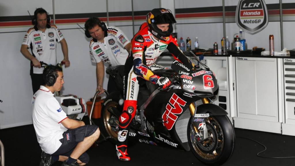 Stefan Bradl, LCR Honda MotoGP - Sepang Official MotoGP Test