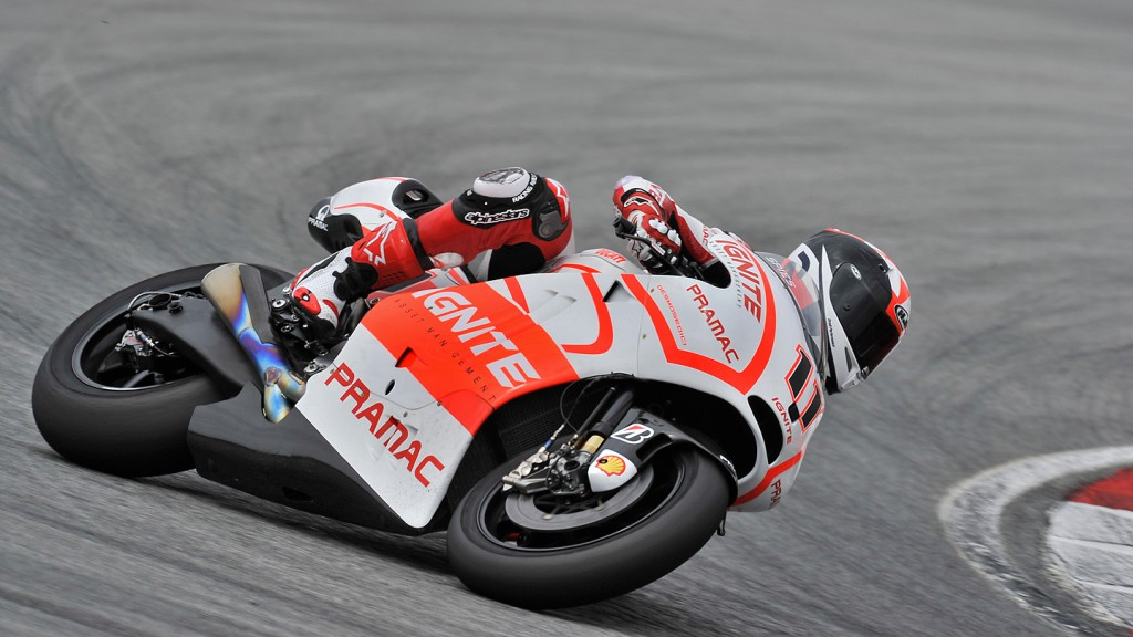 Ben Spies, Pramac Racing Team - Sepang Official MotoGP Test © Gigi Soldano / Milagro