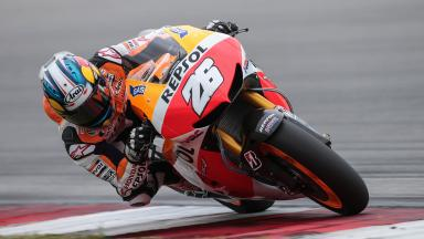 Midday highlights from the 2nd day of testing at Sepang
