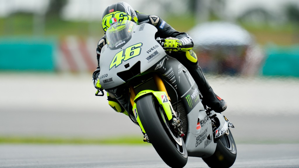 Valentino Rossi, Yamaha Factory Racing - Sepang Official MotoGP Test