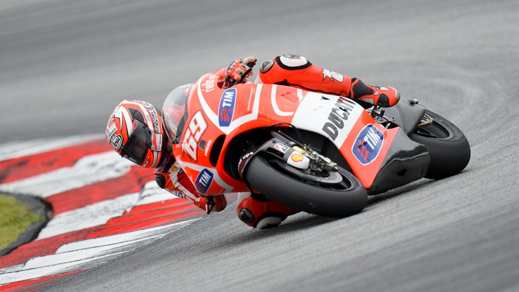 Nicky Hayden, Ducati Team- Sepang Official MotoGP Test