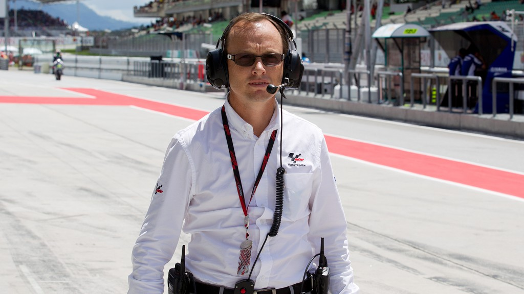 Javier Alonso, Dorna's Managing Director of Events Area