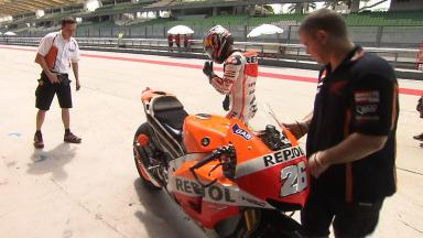 Sepang Official MotoGP Test - Day 3 Highlights