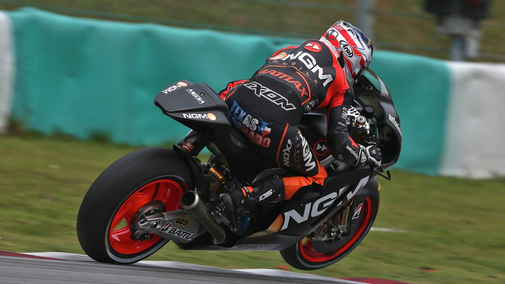 Colin Edwards, NGM Mobile Forward Racing - Sepang Official MotoGP Test