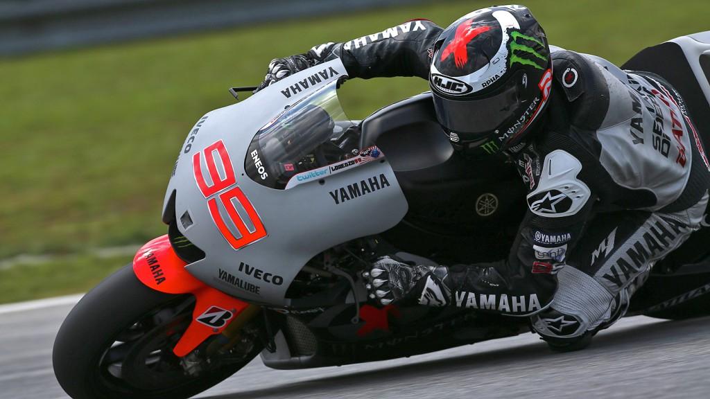 Jorge Lorenzo, Yamaha Factory Racing - Sepang Official MotoGP Test