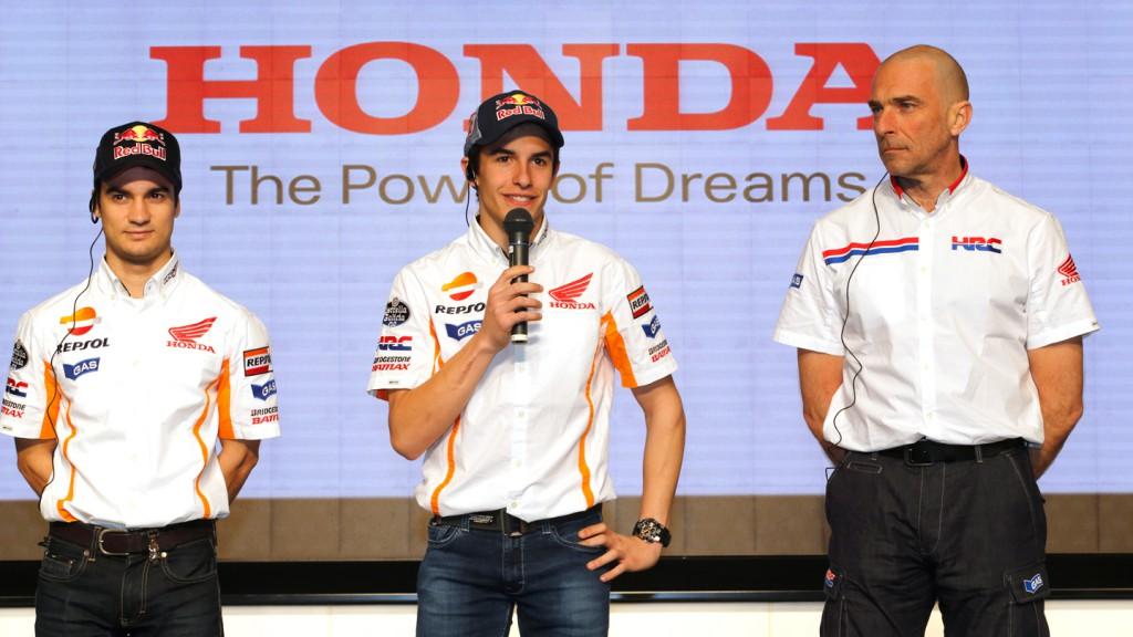 Pedrosa, Marquez, Suppo, Repsol Honda Team - Tokyo