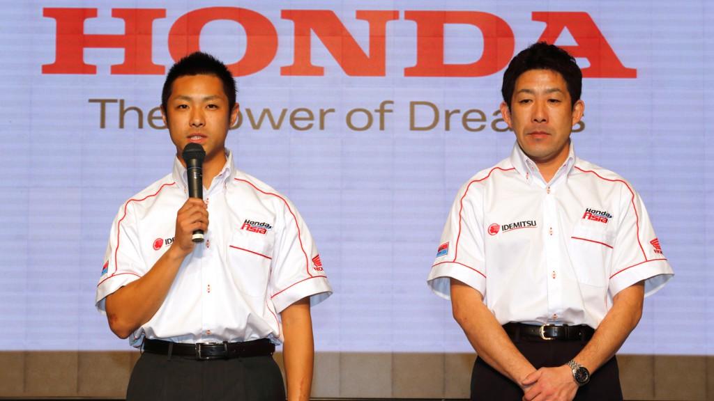 Takahashi, Okada, Idemitsu Honda Team Asia - Tokyo