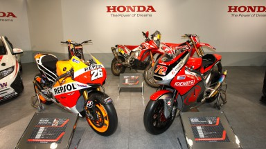 Honda RC213V & Moriwaki Moto2