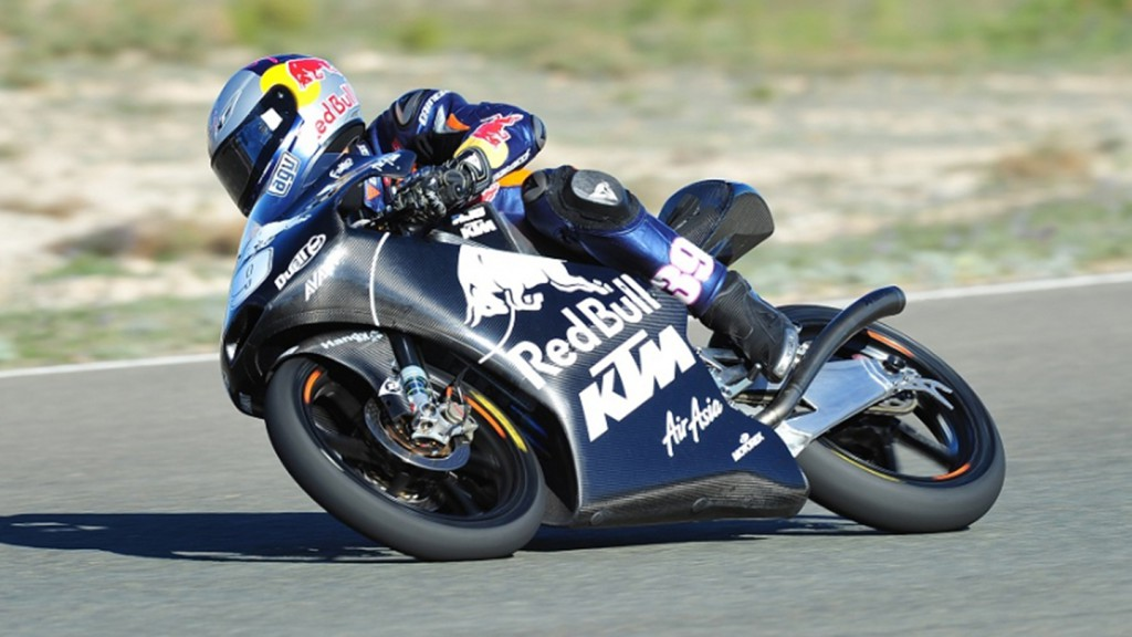 Luis Salom, Red Bull KTM Ajo - Almeria Circuit