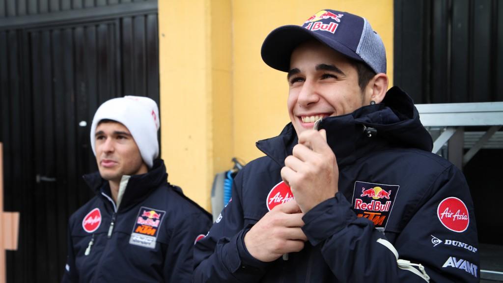 Luis Salom, Arthur Sissis, Red Bull KTM Ajo - Valencia Test