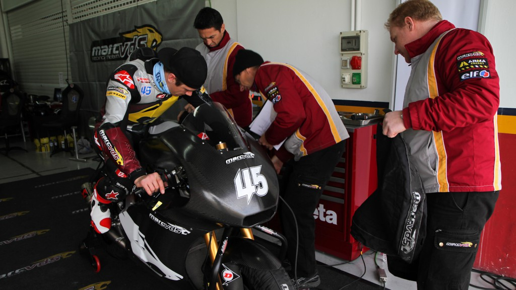 Scott Redding, Marc VDS Racing Team - Valencia Test