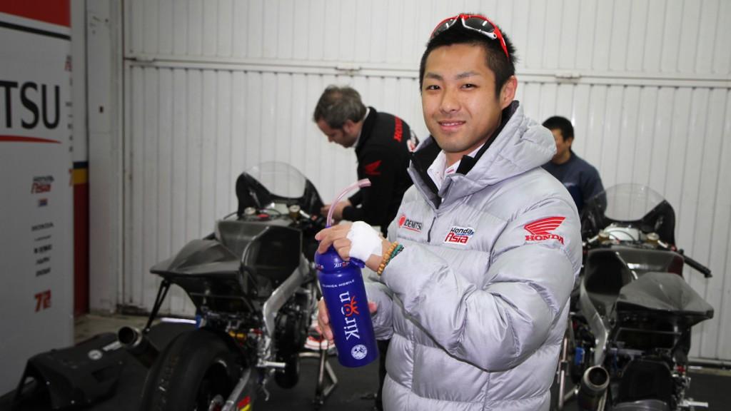 Yuki Takahashi, Idemitsu Honda Team Asia - Valencia Test