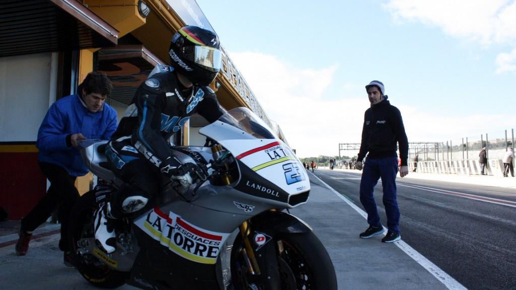 Marcel Schrotter, Desguaces La Torre SAG - Valencia Test