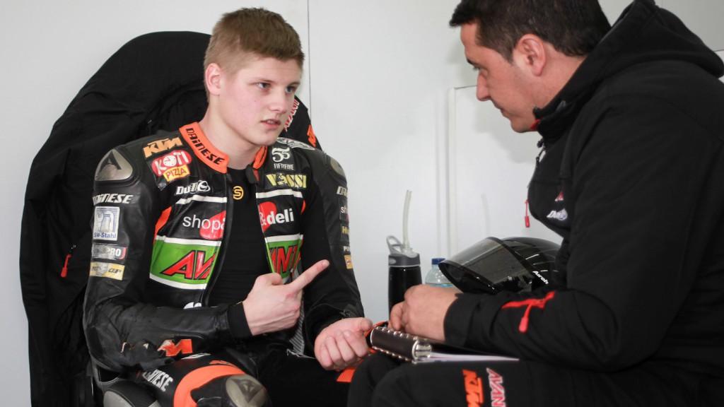 Niklas Ajo, Avant Tecno KTM - Valencia Test