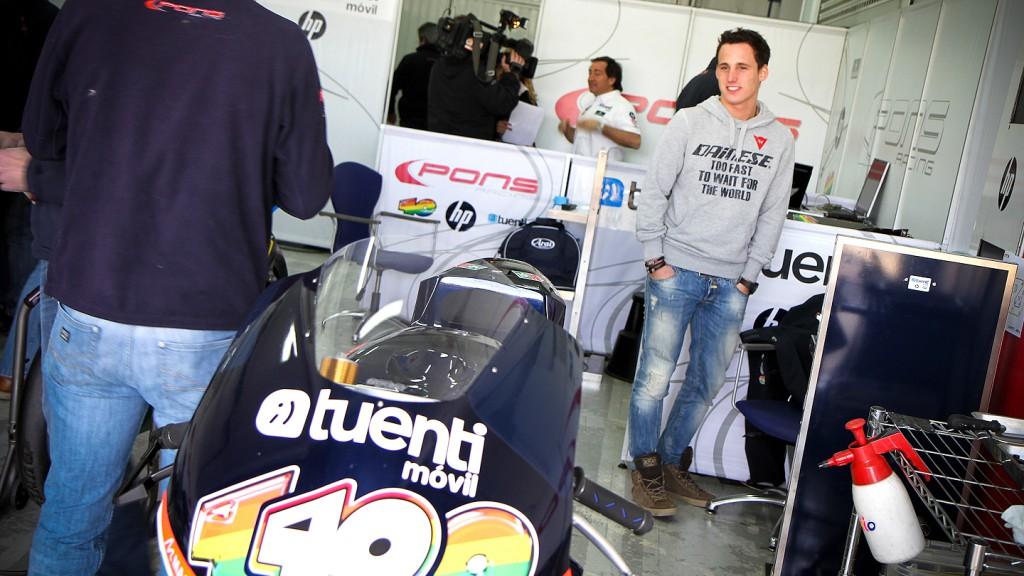 Pol Espargaro, Tuenti HP 40 - Valencia Test