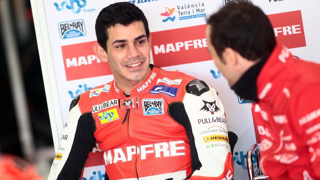 Jordi Torres, Mapfre Aspar Team Moto2 - Valencia Test