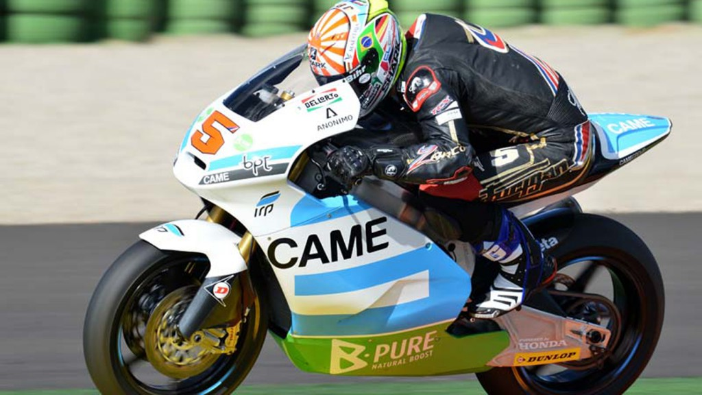 Johann Zarco, Came Iodaracing Team - Valencia Test