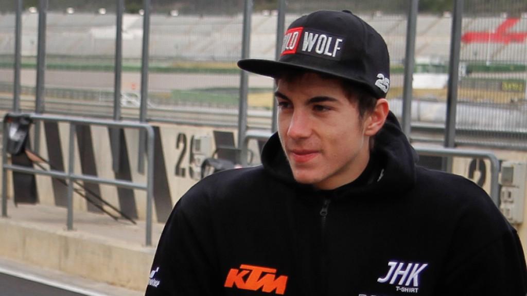 Maverick Viñales, JHK T-Shirt Laglisse - Valencia Test