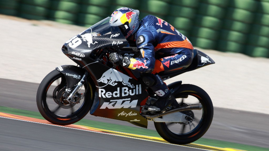 Luis Salom, Red Bull KTM Ajo - Valencia Test