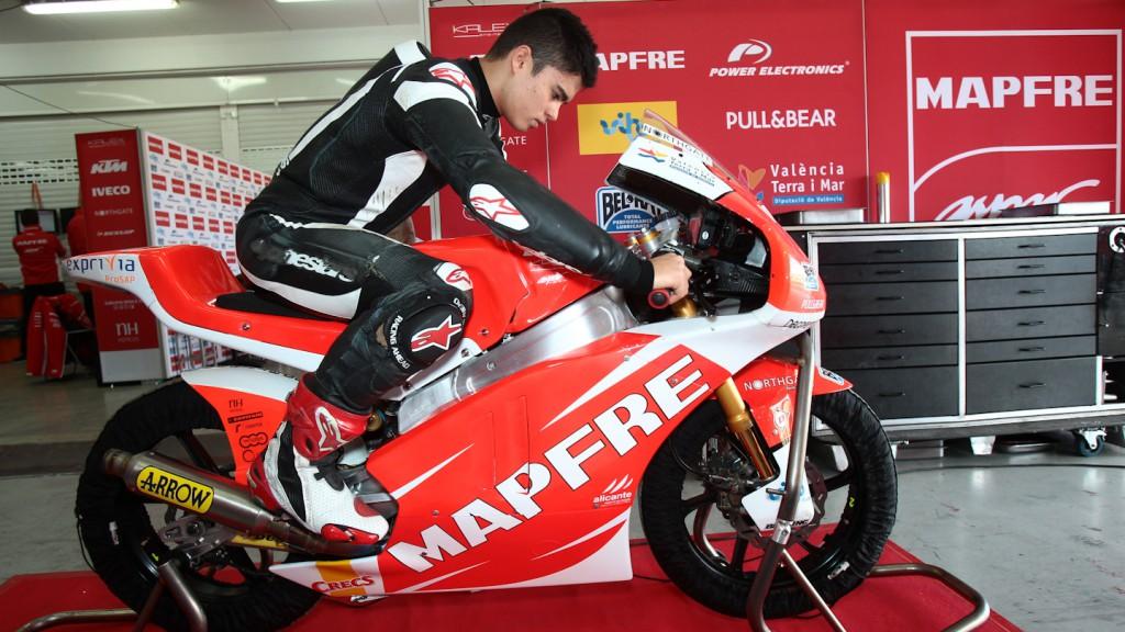 Eric Granado, Mapfre Aspar Team Moto3 - Valencia Test