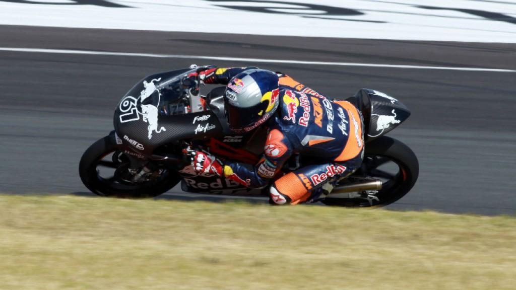 Arthur Sissis, Red Bull KTM Ajo - Valencia TEst