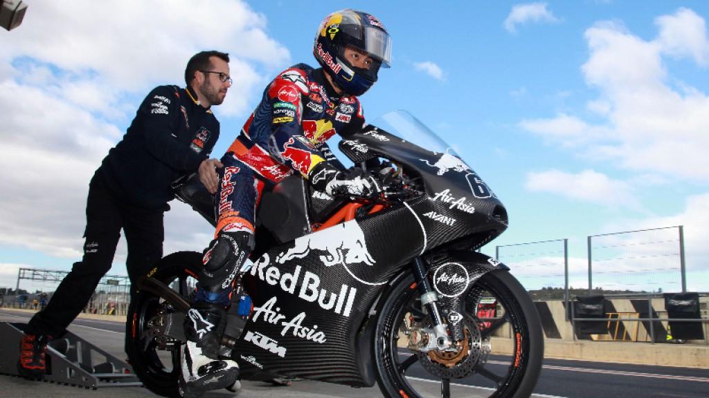 Zulfahmi Khairuddin, Red Bull KTM Ajo - Valencia Test