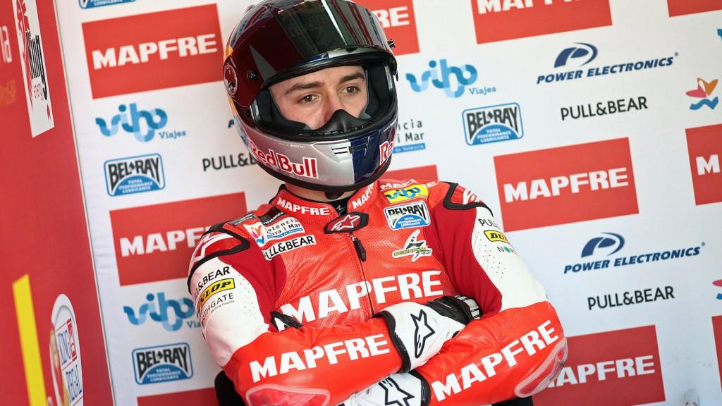 Jonas Folger, Mapfre Aspar Team - Valencia Test