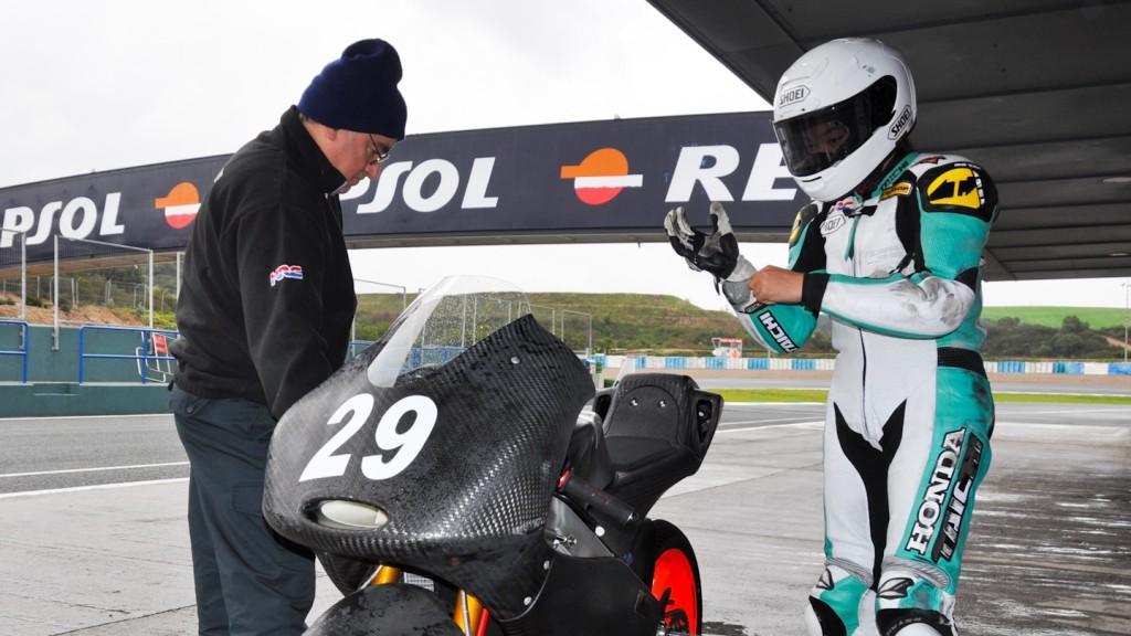 Hyuga Watanabe, Go & Fun Gresini Moto3 - Jerez Test