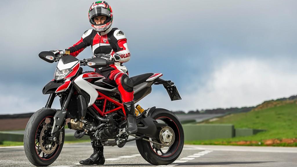 Nicky Hayden, Ducati Team - Ducati Hypermotard SP Presentation