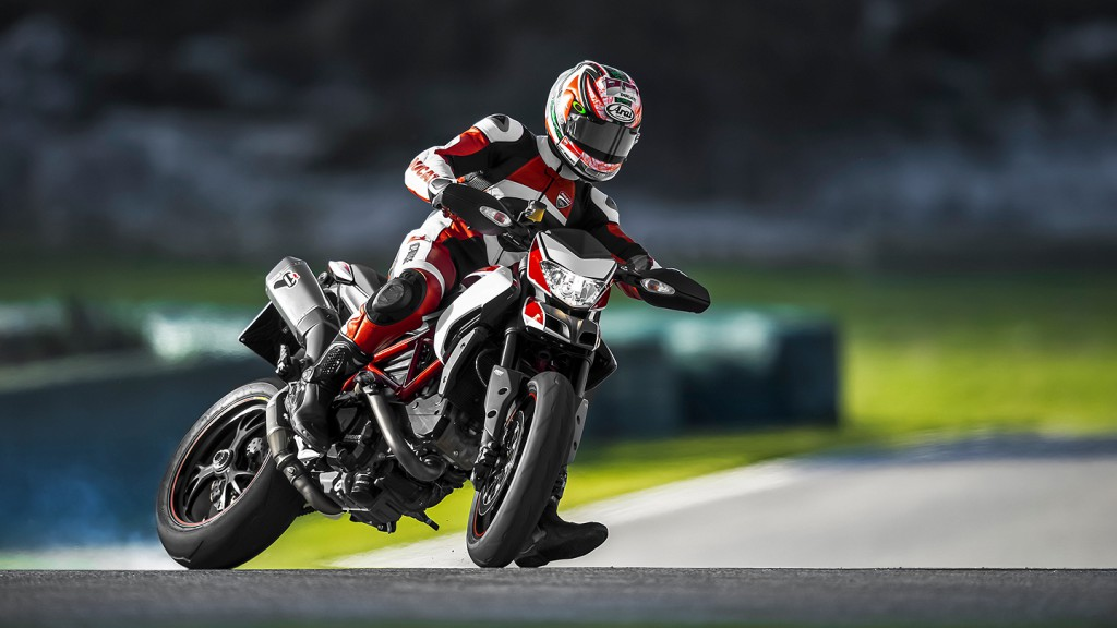 Nicky Hayden, Ducati Team - Ducati Hypermotard SP Presentation
