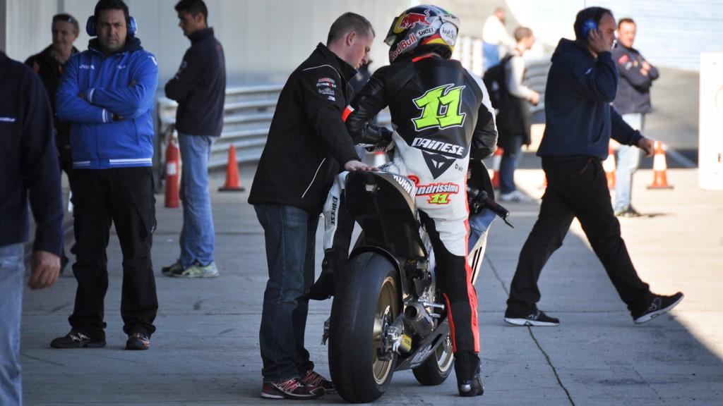 Sandro Cortese, Dynavolt Intact GP - Jerez Test